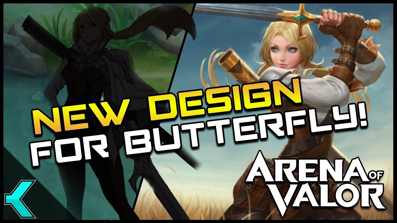 Butterfly Redesign Arena Of Valor News