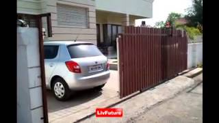 Livfuture Automatic Sliding Gate System.avi