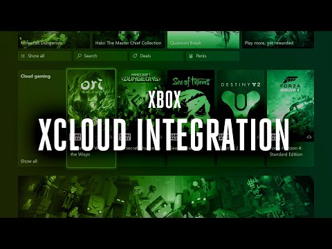 First look at xCloud integration on Xbox