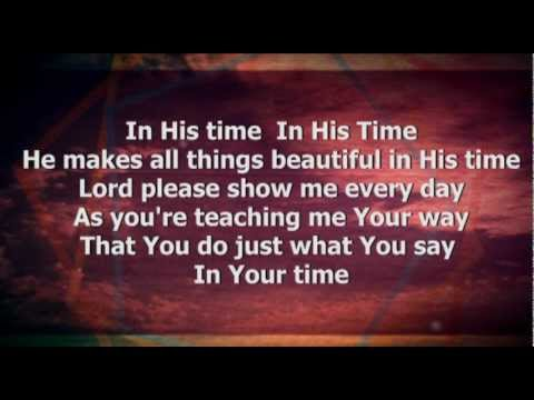 In His Time worship video