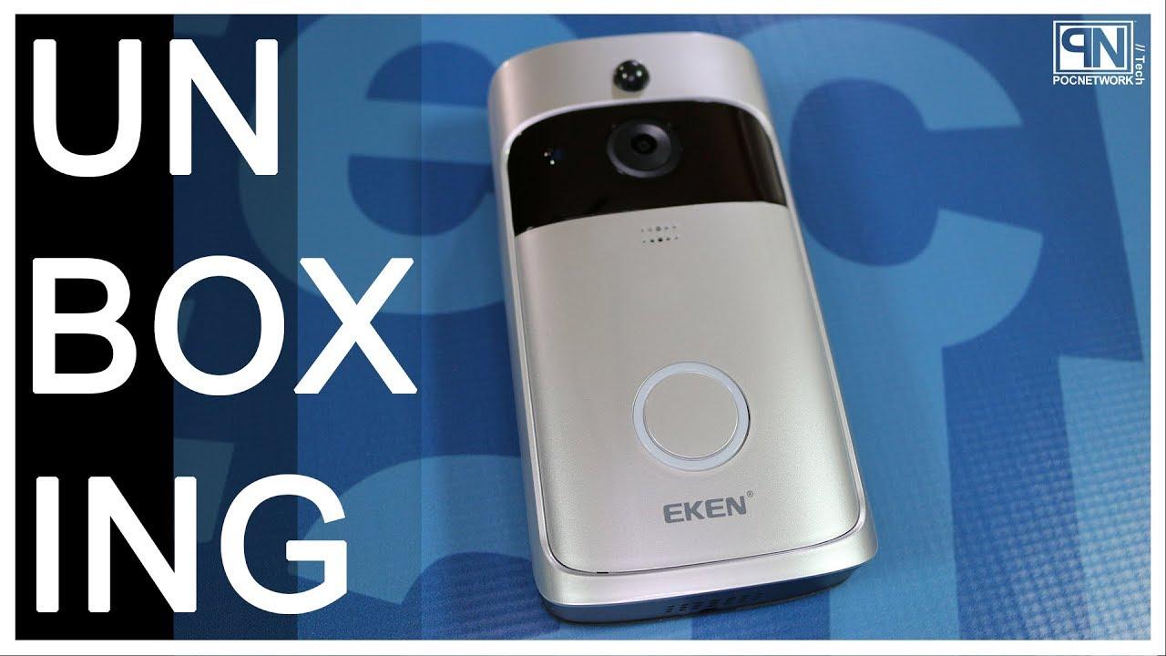 EKEN Video Doorbell 2 - Unboxing - Poc Network - YouTube