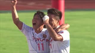 2017年10月7日(土)に行われた明治安田生命J2リーグ 第36節 山口vs名...