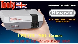 How to add the full NES/Famicom game library to your Nintendo Classic Mini - NES Mini - 700+ games
