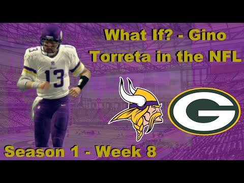 What If? - Gino Torreta in the NFL Episode 6 (S1W8) Vs Green Bay
