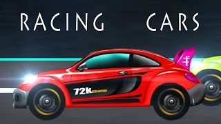 Sports car | Car Race | cartoon car
