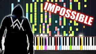 Alan Walker - Sing Me To Sleep - IMPOSSIBLE PIANO by PlutaX