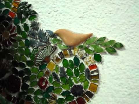 Arbol de pasi n mosaico mural en villa crespo youtube for El mural de mosaicos