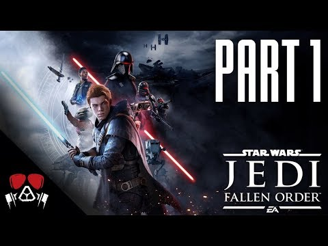 JUST LIKE DARK SOULS! | Star Wars: Jedi Fallen Order #1