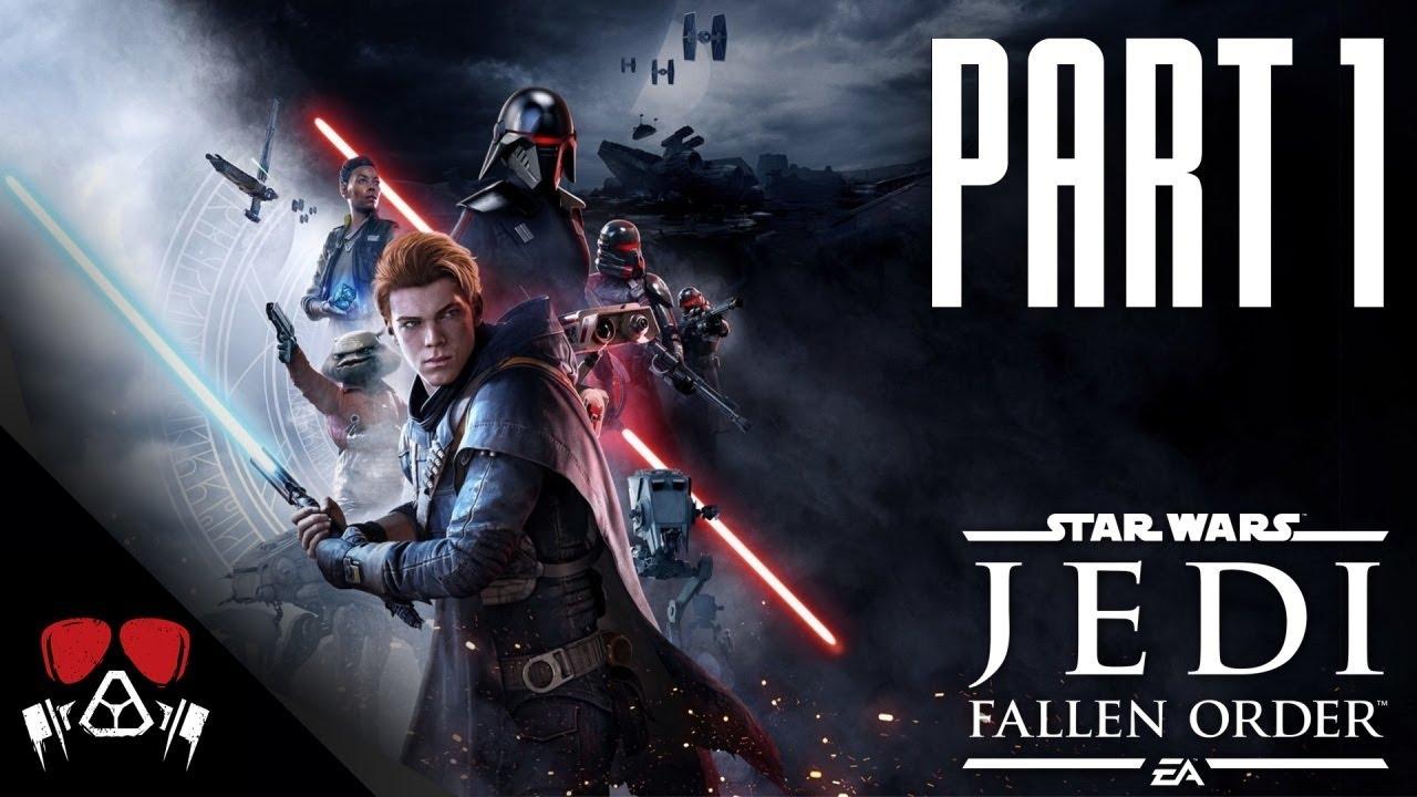 JUST LIKE DARK SOULS! | Star Wars: Jedi Fallen Order #1 thumbnail