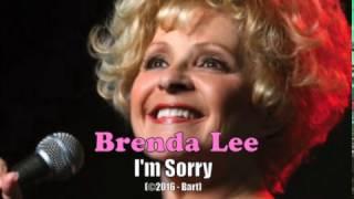 Brenda Lee - I'm Sorry (Karaoke)