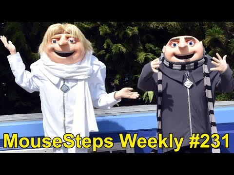 MouseSteps Weekly #231: The Boathouse; Universal Orlando Minions, Gru & Dru; Gaylord Palms; Epcot