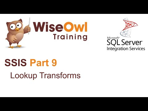 SQL Server Integration Services (SSIS) Part 9 - Lookup Transforms