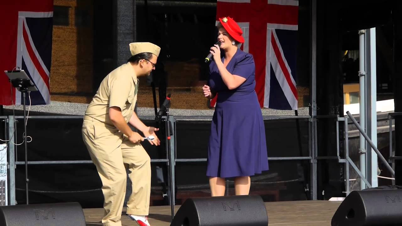 Salute To The 40 S At Chatham Dockyard