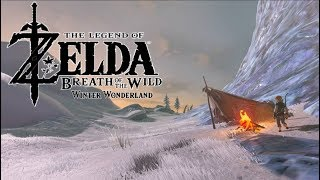 A Very Cold Hyrule in Legend of Zelda: Breath of the Wild - Winter Wonderland Mod