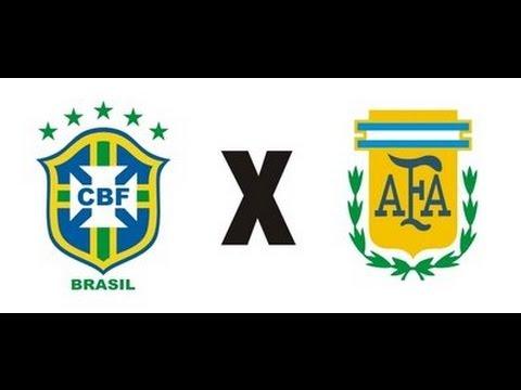 Brasil 3 X 4 Argentina - Amistoso Internacional - 09-06-2012 - Jogo Completo