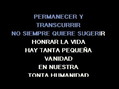 """""""Honrar la vida""""  (Tono Mujer)  KARAOKE COMPLETO Arreglo Pablo Azzaroni"""