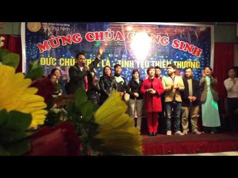 HTLSS Quảng Ninh/Mừng Chúa Giáng Sinh 2015/Ms David Luân Hư