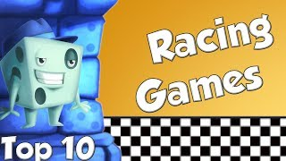 Top 10 Racing Games - with Tom Vasel