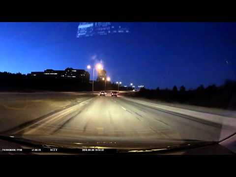 St John's Newfoundland Driving - April 30th 2016