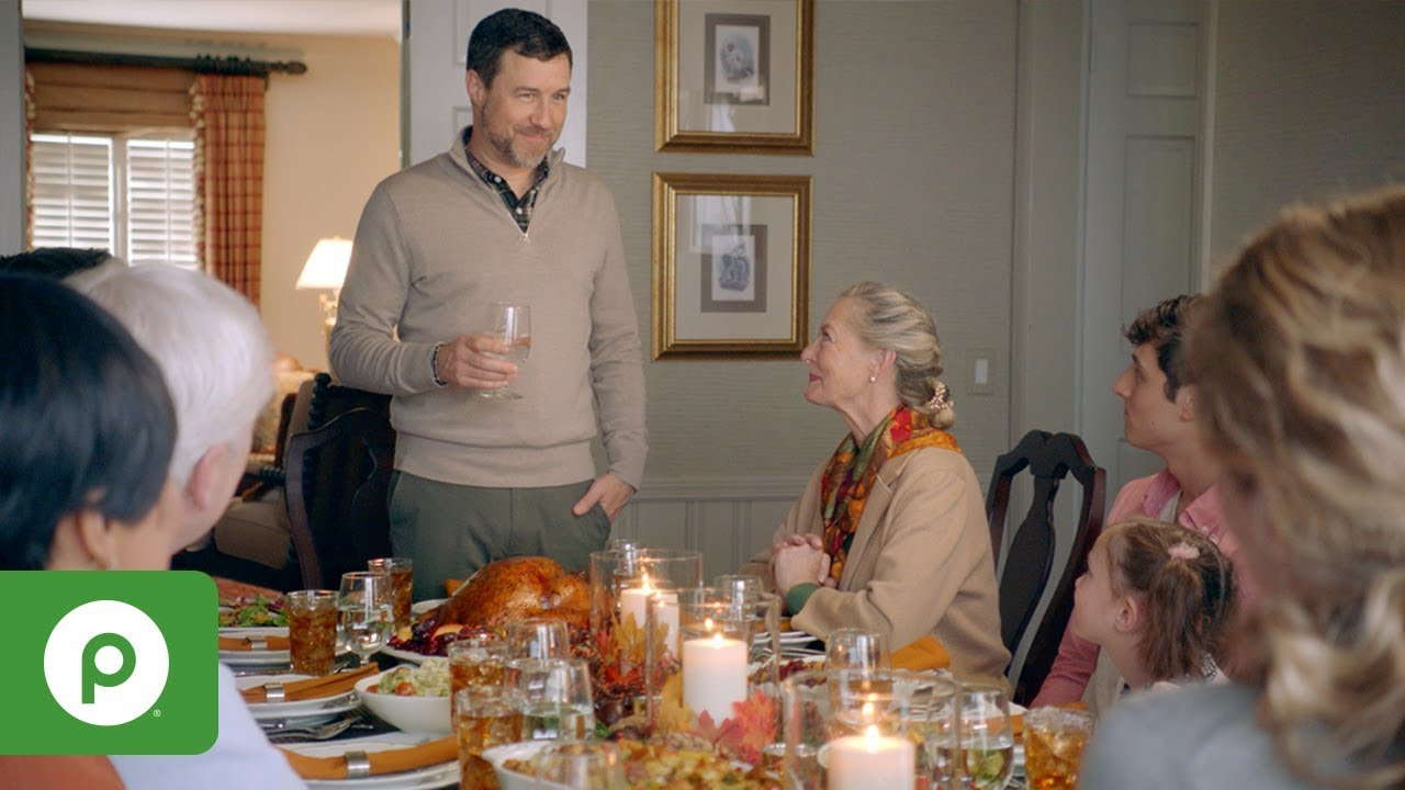 Catching Up; A Publix Thanksgiving story.