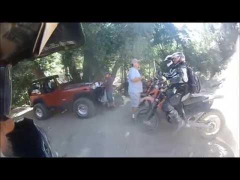 Big Bear Trail Riders Dual Sport Run 2013 hard loop