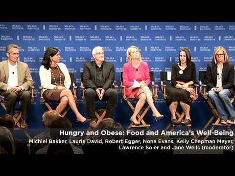 Hungry and Obese: Food and America's Well-Being