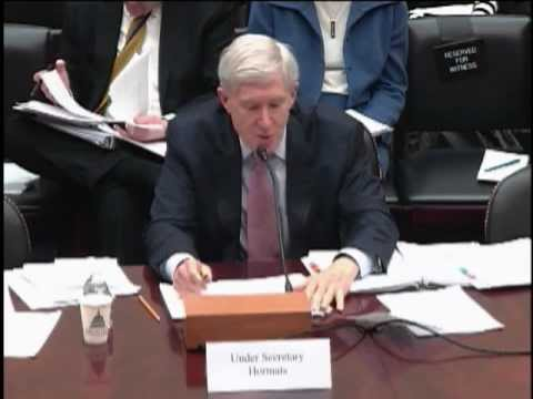 Under Secretary Hormats Delivers Remarks on Europe and Eurasia