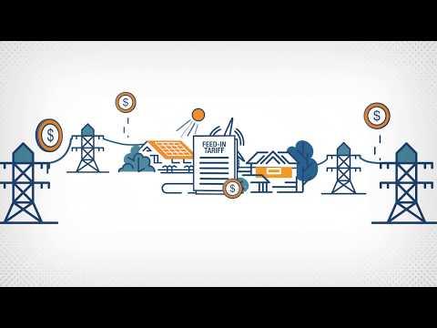 Renewable energy feed-in tariff explained
