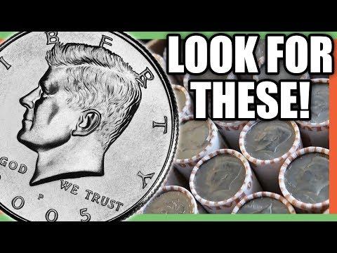 HALF DOLLARS TO LOOK FOR - RARE HALF DOLLARS WORTH MONEY!!