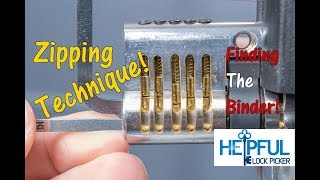 [215] How To Identify The Binding Pin With The Zipping Test
