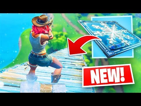 NEW Epic FREEZE Trap in Fortnite!