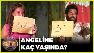 Angelina Jolie Kaç Yaşındadır? - Survivor 45. Bölüm Bil Bakalım