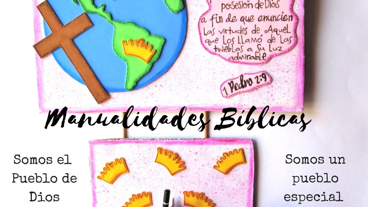 Manualidades b blicas 1 pedro 2 9 youtube for Manualidades decorativas para la casa