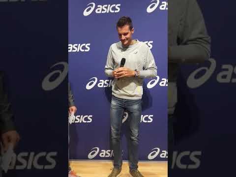 Jan Frodeno Asics Talk Marathon Messe Frankfurt 28.10.2017