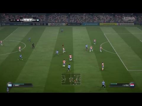 Paraguay-Uruguay  Daily match FIFA 17
