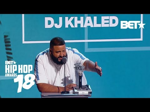 DJ Khaled Is The Best! The Best DJ of Year, That Is | Hip Hop Awards 2018