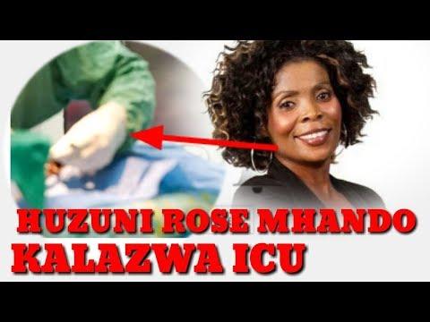 BAD NEWS: Rose Muhando yu 'Hoi' ICU....Tumuombee!!