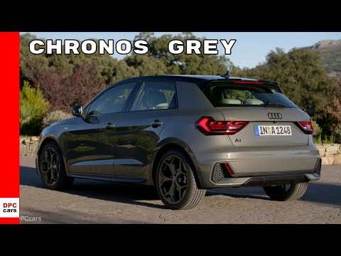 2019 Audi A1 Sportback Chronos Grey Youtube
