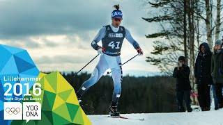 Cross-Country 10km Free - Magnus Kim (KOR) wins gold | Lillehammer 2016 Youth Olympic Games