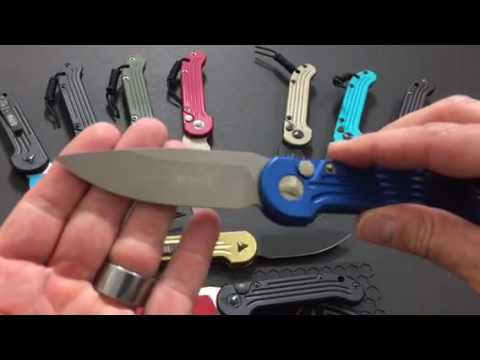 2016 Microtech LUDT Automatic Knives Overview