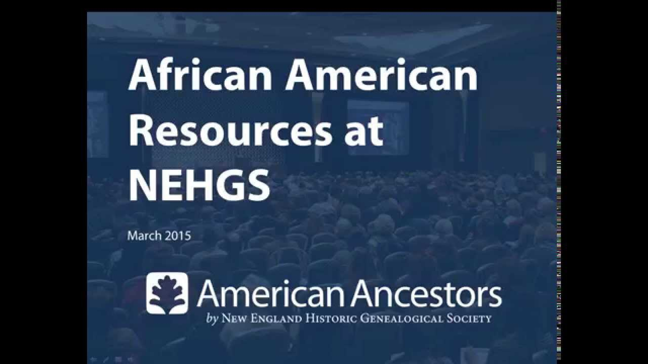 African American Research Guide