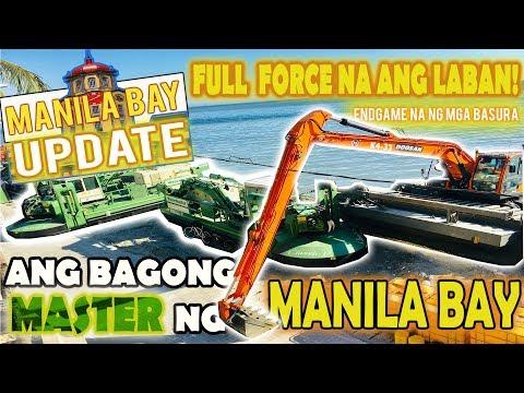 MANILA BAY NEW UPDATE: ENDGAME NA NG MGA BASURA   ANG BAGONG MASTER NG MANILA BAY   PANGDIINAN NA!  