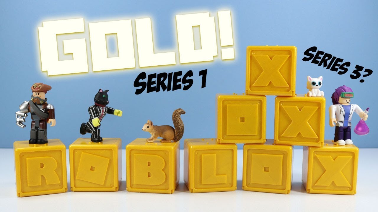 Roblox Mystery Box Series 3 - Roblox Celebrity Collection Series 1 Mini Mystery Figures