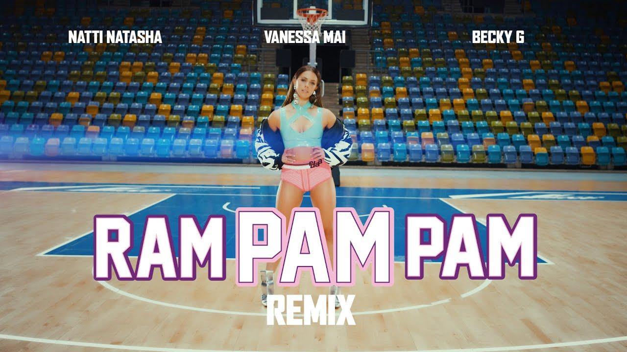 Download Natti Natasha, Becky G, Vanessa Mai - Ram Pam Pam (Remix) (Official Video)