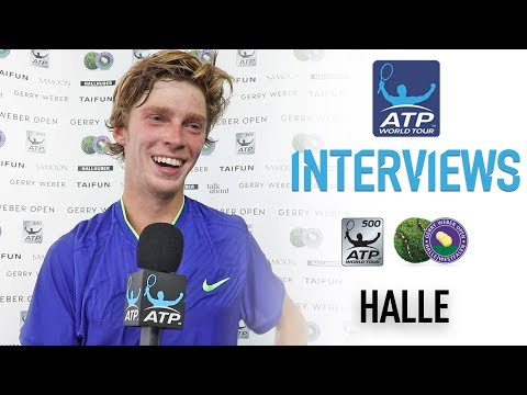 Rublev Gets Set For Biggest Match Of Career Halle 2017