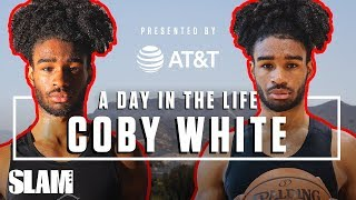 Coby White: From a Small Town to CHI-TOWN 🐂 | SLAM Day in the Life Video