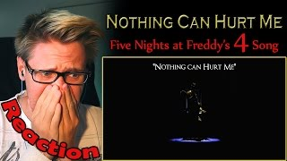 """Nothing Can Hurt Me"" - FNAF 4 song by MandoPony REACTION! 