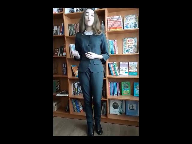Изображение предпросмотра прочтения – ЕлизаветаПавлова читает произведение «В не раз уже заштопанном халате» Н.К.Рыбалтовской