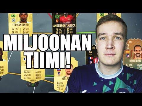 UUSI MILJOONAN COINSIN TIIMI! - FIFA 19 ROAD TO GLORY SUOMI #26