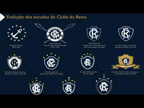 Evolução dos escudos do Clube do Remo